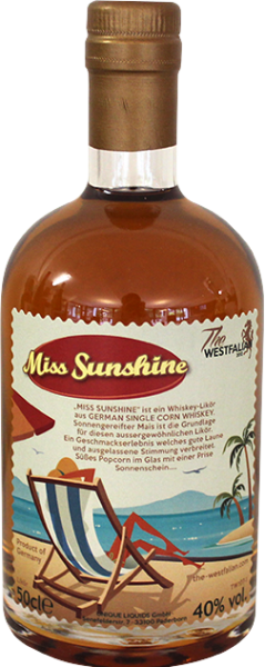 The Westfalian Miss Sunshine Whisky - Likör