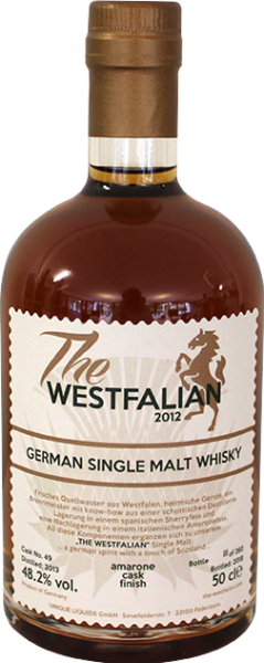 The Westfalian German Single Malt Whisky