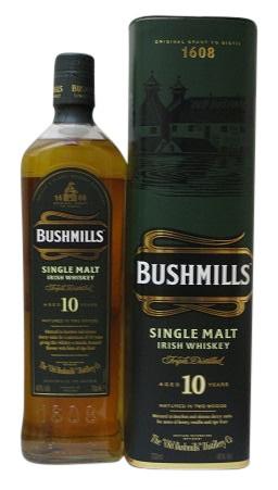 Bushmils Single Malt 10 J.