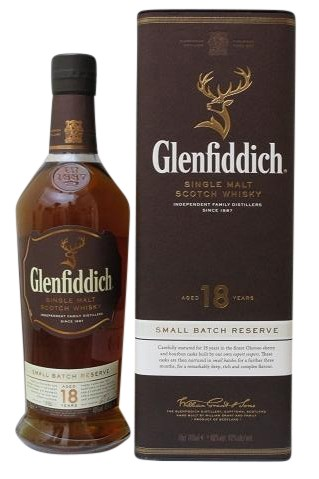 Glenfiddich 18 J.