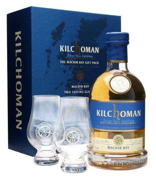 Kilchoman Machir + 2 Gläser Geschenkpackung