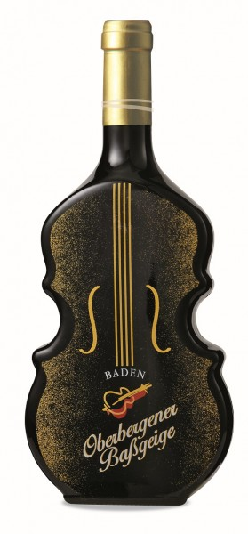 Oberbergener Baßgeige Grauer Burgunder Geigenflasche Spätlese trocken