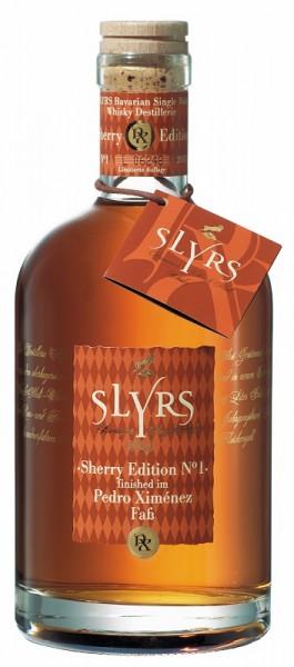 Slyrs Edition No. 2 finished im Pedro Ximenez Faß