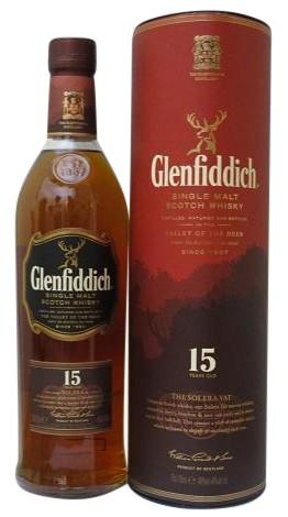 Glenfiddich 15 J.