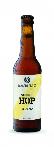 Hanscraft & CO. Single Hop Kellerpils