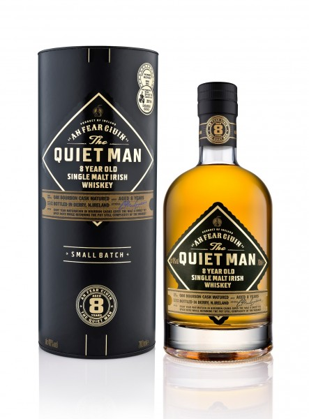 The Quiet Man Irish Single Malt 8 J.