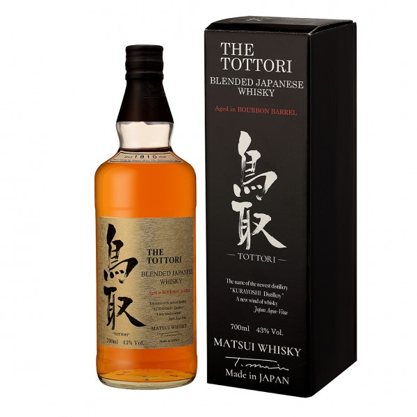 The Tottori Blended Bourbon Japanese Whisky