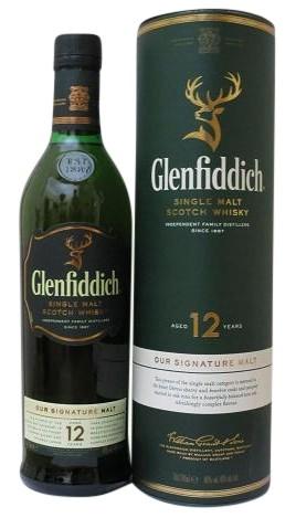 Glenfiddich 12 J.